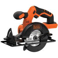 "BLACK+DECKER 20V MAX* Cordless 5-1/2"" Circular Saw (Tool Only) - BDCCS20B"