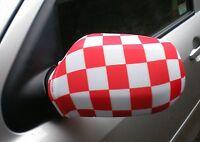 Voiture Rétroviseur Chaussettes drapeaux, coques, Haut les drapeaux ! !