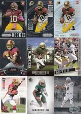 79ct Robert Griffin III 2012 Football Rookie Card RC Lot - Serial #