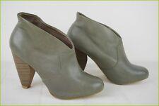 Bottines Boots CORTEFIEL Accessoires Cuir Gris T 37 TBE