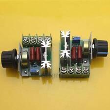 2pcs Adjustable Voltage Regulator AC Motor Speed Control Controller 50-220V