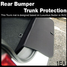 Rear Bumper Trunk Scratch Protection Cargo Mat Guard for Universal Car Vehicle