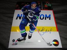 Vancouver Canucks Keith Ballard Autographed Signed 8x10 COA