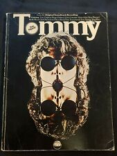 Rare The Who Tommy the Movie, Original Soundtrack Sheet Music Book 1975 Daltrey