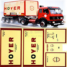 Mercedes SK HOYER Hambourg 1:87 CAMION Autocollant Stickers