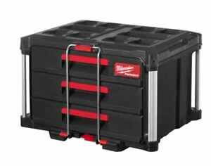 Milwaukee Packout™ Suitcase With 3 Drawer Toolbox Tool Box
