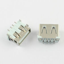 10Pcs USB 2.0Female Type A 4 Pin SMT SMD PCB Socket Connector 4 Legs