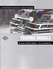 2002 Harley Touring FLH FLT Service Repair Workshop Shop Manual 99483-02