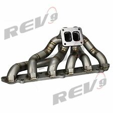 REV9 HP SERIES 86-92 SUPRA 7MGTE EQUAL LENGTH TOP MOUNT TURBO MANIFOLD T4 JZA70