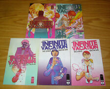 the Infinite Vacation #1-5 VF/NM complete series - nick spencer - 2nd prints set