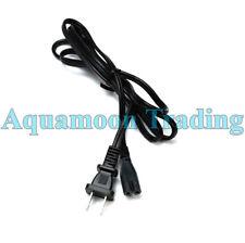 "Universal 1-15P / C7 Power Cord ""Figure 8"" 2-Prong Black 125V 6FT TV / Appliance"