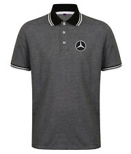 Mercedes Gifts Embroidered Heavyweight Golfing Quality Polo Shirt.