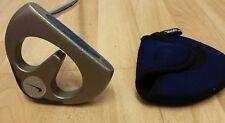 "Nike OZ  35""  Blue Chip T-100 Putter Steel Shaft w/ Cover - Left Handed / LH"