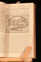 c1723 Aesop's Fables Samuel Croxall Illustrated