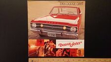 1968 DODGE Dart GT/GTS Color Dealer Sales Catalog - Very Good Condition (US)