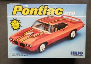 Mpc RARE '70 Pontiac GTO Model Kit 1/25 *New & Factory Sealed*