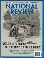 National Review Magazine Horatio Alger Occupy Wall Street Egypt's Christians