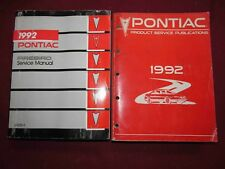 1992 Pontiac Firebird Service Manual SET of Two! Body-Chassis-Electrical