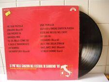 Le più belle canzoni del festival di Sanremo '69 1969  LP 33 Giri (BX52)