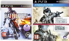 Ghost RECON FUTURE SOLDIER e ADVANCE WARFIGHTER 2 & Battlefield 4 NUOVO e SIGILLATO