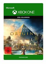 Assassin's Creed Origins (Microsoft Xbox One, 2017)