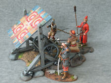Russian Streltsy with a 7 barrel gun Elite tin soldiers SCALE: 1/32 54 mm