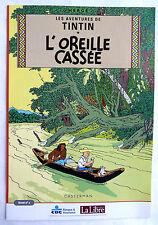 4 BD PUBLICITAIRE TINTIN L'OREILLE CASSEE LA LIBRE BELGIQUE HERGE T1 à 4