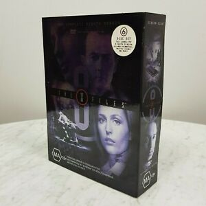 THE X FILES The Complete Season 8 Collector's Edition DVD 6 Disc Box Set