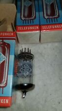 ECC81 <> Telefunken  Röhren New tubes  High End Tube, Sealed NOS no open box
