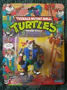 TMNT Panda Khan 1990 -cut bubble- Teenage Mutant Ninja Turtles, Vintage