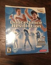 BRAND NEW Dance Dance Revolution (Nintendo Wii, 2010) BIG BOX Game & Controller