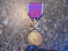 belle medaille congo belge couleur or