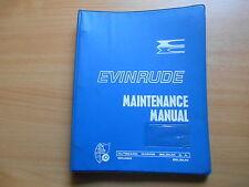 Werkstatthandbuch Evinrude Außenborder 125 PS (1971)