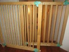 lot de 2 Barrières de sécurité enfant en bois - Très Bon état