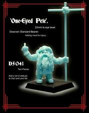 Monolith Models 28mm Dwarf Standard Bearer One Eyed Pete