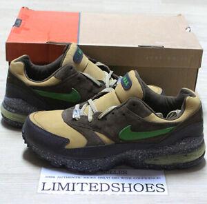 NIKE AIR MAX BURST STORM VENEER GREEN GOLD BROWN 305608-231 US 12 eminem shady