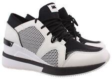 Zapatillas para mujer 43 R 0 Michael Kors lvfs 1D Liv entrenador Scuba Blanco Negro