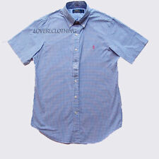 Ralph Lauren Men's No Pattern Button Down Casual Shirts & Tops