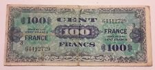 5 Francs France 1944 Army Billet Serie