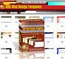 306 Web Design Templates - HTML Webseiten-Vorlagen - Master Reseller Lizenz
