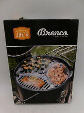 Oklahoma Joe's 4419599P04 Bronco Drum Smoker Triple Grate, Silver