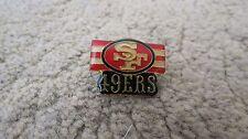 Vintage NFL San Francisco 49er's Red Gold Pin
