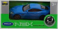 WELLY JAGUAR XKR-S BLUE 1:43 DIE CAST METAL MODEL NEW IN BOX