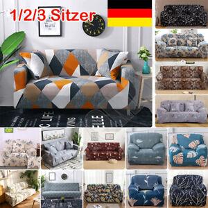 DE 1-3 Sitzer Sofahusse Sofabezug Abdeckung Überwürfe Stretchhussen Universal