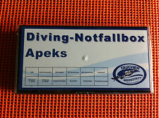 Diving Notfallbox Sauerstoff Viton O² Nitrox Oxy Oxygen Apeks Atemregler