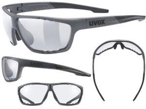Uvex Fahrradbrille Sportbrille Sportstyle 706 vario darkgrey