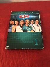 ER Season 1 The Complete First Season 4 DVD Set Doctors Hospital George Clooney