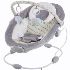 Babywippe Babyschaukel Wipper mit Musik Vibration 2 Positionen Spielebogen grau