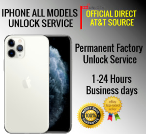 PREMIUM AT&T ATT FACTORY UNLOCK SERVICE CODE IPHONE 12 PRO MAX 11 PRO MAX 11