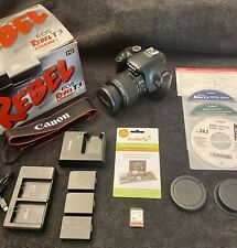 Canon EOS Rebel T3 / EOS 1100D 12.2MP Digital SLR Camera - Black (Kit w/ EF-S IS